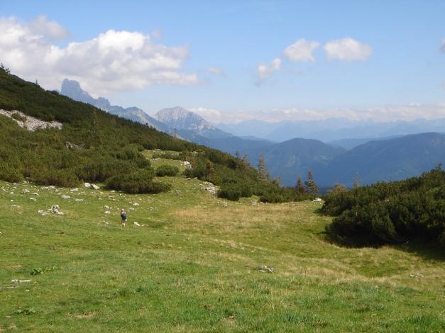 Foto: Manfred Karl / Wander Tour / Von Quehenberg auf den Schober / Abstieg vom Gsengsattel / 31.08.2009 21:17:43