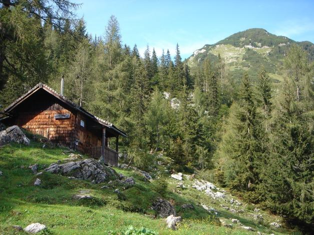 Foto: Manfred Karl / Wander Tour / Von Quehenberg auf den Schober / Gwechenberghütte - mit vielen Erinnerungen verbunden / 31.08.2009 21:16:16