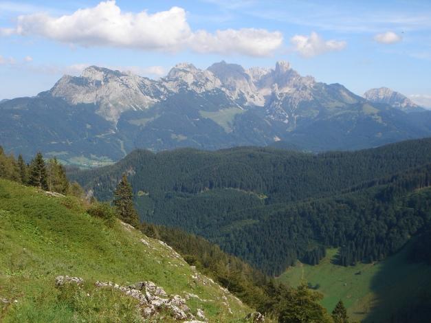 Foto: Manfred Karl / Wander Tour / Von Quehenberg auf den Schober / Gosaukamm / 31.08.2009 21:15:48