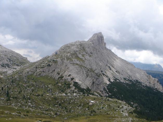Foto: Manfred Karl / Kletter Tour / Hexenstein, Canale della Bomba a mano / Hexenstein / 31.08.2009 22:28:31