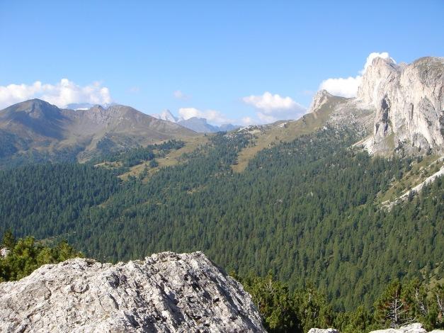 Foto: Manfred Karl / Kletter Tour / Hexenstein, Canale della Bomba a mano / Einstieg / 31.08.2009 22:27:47