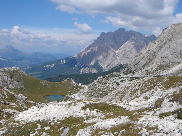 Foto: Manfred Karl / Kletter Tour / Hexenstein, Canale della Bomba a mano / Beim Ausstieg / 31.08.2009 22:27:07
