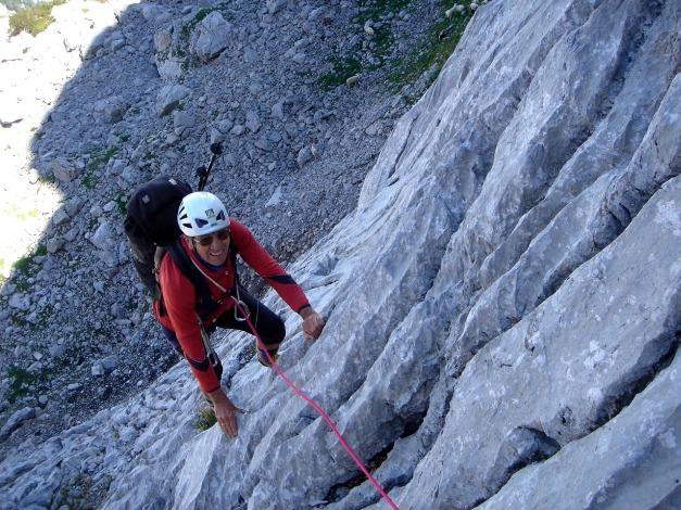Foto: Manfred Karl / Kletter Tour / Über die Wasserrillenwelt auf das Sommereck / 31.08.2009 22:54:40