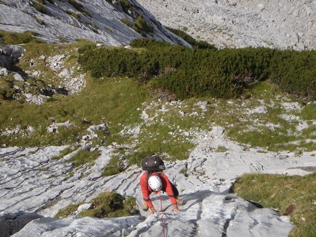 Foto: Manfred Karl / Kletter Tour / Über die Wasserrillenwelt auf das Sommereck / 31.08.2009 22:53:38