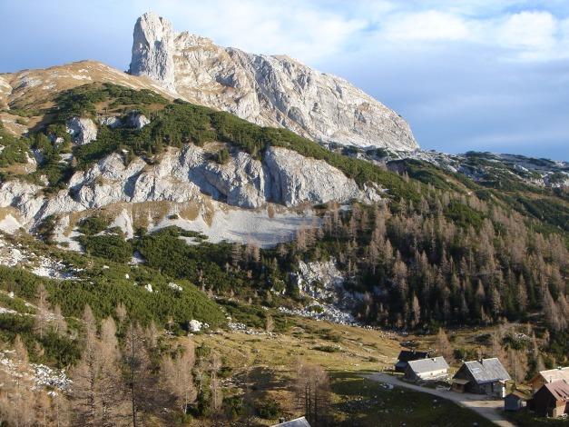 Foto: Manfred Karl / Kletter Tour / Klettern im Himmelreich / Sturzhahn mit Steirerseehütten / 31.08.2009 23:58:38