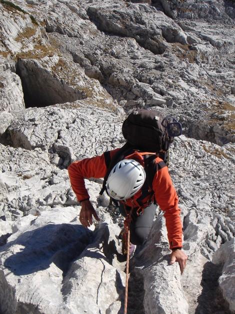 Foto: Manfred Karl / Kletter Tour / Klettern im Himmelreich / Nach der Steilstufe / 31.08.2009 23:56:36
