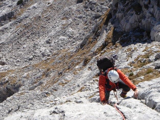 Foto: Manfred Karl / Kletter Tour / Klettern im Himmelreich / Herrlicher Fels auch im oberen Teil / 31.08.2009 23:55:55