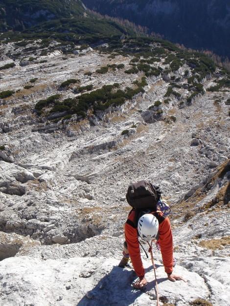 Foto: Manfred Karl / Kletter Tour / Klettern im Himmelreich / 31.08.2009 23:55:30