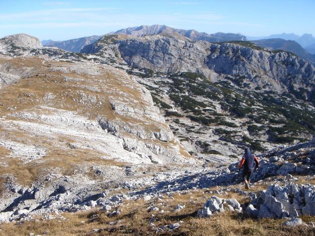Foto: Manfred Karl / Kletter Tour / Klettern im Himmelreich / Abstieg vom Leckkogel / 31.08.2009 23:55:00