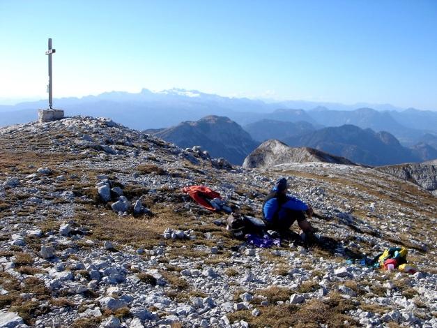Foto: Manfred Karl / Kletter Tour / Klettern im Himmelreich / Gr. Tragl / 31.08.2009 23:54:06
