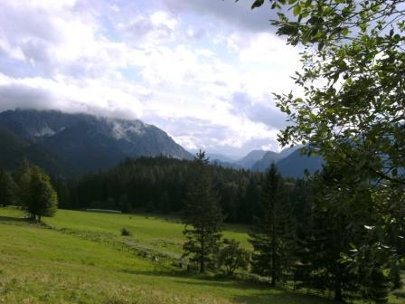Foto: Johann P. / Mountainbike Tour / Oberwenger Panoramarunde mit Gostiztal / Auf der Schotterstrasse vorbei beim Sonnleitner Reith. / 02.09.2009 19:39:24