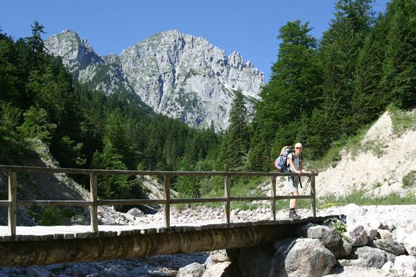 Foto: Christian Schickmayr / Wander Tour / Tannheimer Berge Überschreitung (3-Tagestour) / Anstiegsweg durch das Raintal zur Musauer Alm / 03.09.2009 17:16:12