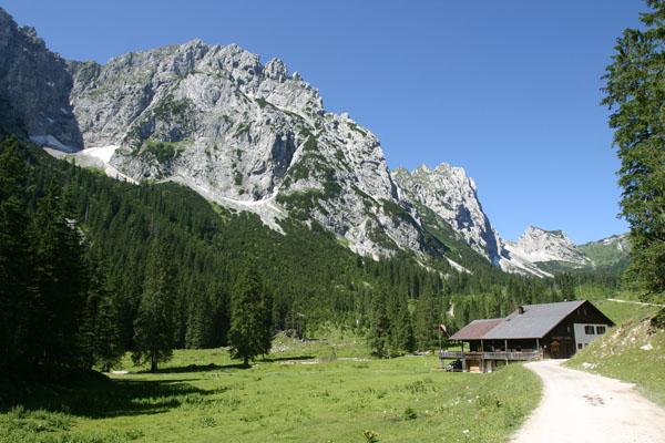 Foto: Christian Schickmayr / Wander Tour / Tannheimer Berge Überschreitung (3-Tagestour) / Musauer Alm / 07.09.2009 18:48:40
