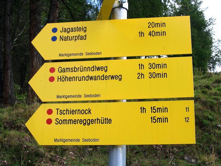 Foto: Andreas Koller / Wander Tour / Gamsbrünndlweg auf das Tschiernock (2088 m) / 03.09.2009 22:07:57