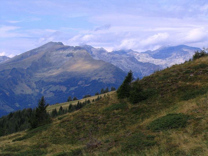Foto: Andreas Koller / Wander Tour / Gamsbrünndlweg auf das Tschiernock (2088 m) / Die Reißeckgruppe / 03.09.2009 22:07:24