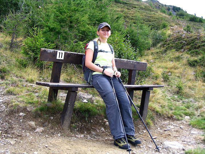 Foto: Andreas Koller / Wander Tour / Gamsbrünndlweg auf das Tschiernock (2088 m) / Rasten / 03.09.2009 22:06:57