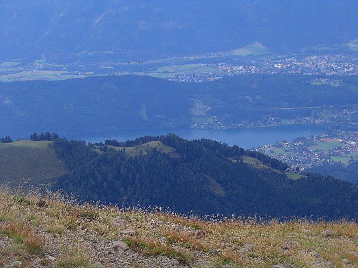 Foto: Andreas Koller / Wander Tour / Gamsbrünndlweg auf das Tschiernock (2088 m) / Der Millstättersee / 03.09.2009 22:06:15