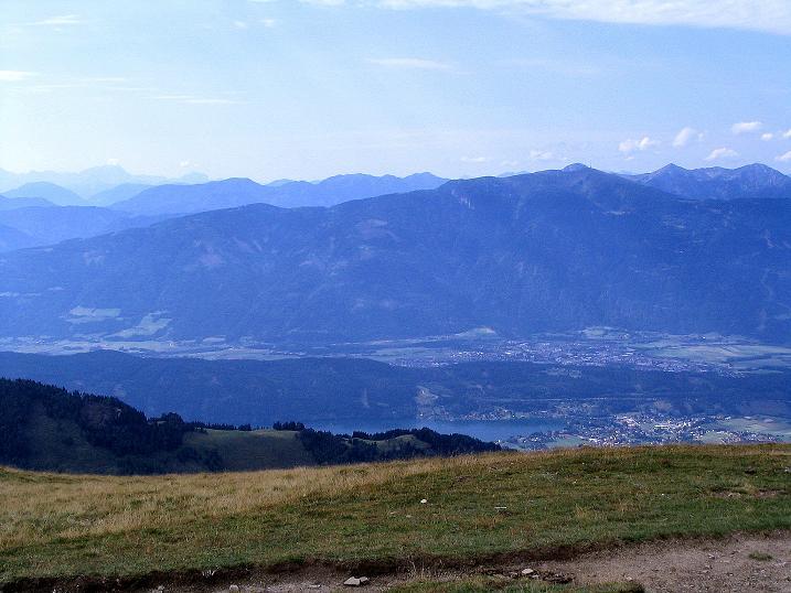 Foto: Andreas Koller / Wander Tour / Gamsbrünndlweg auf das Tschiernock (2088 m) / Blick über den Millstättersee / 03.09.2009 22:05:19