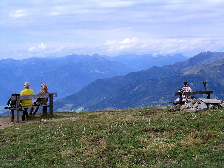 Foto: Andreas Koller / Wander Tour / Gamsbrünndlweg auf das Tschiernock (2088 m) / Gipfelrast / 03.09.2009 22:04:35