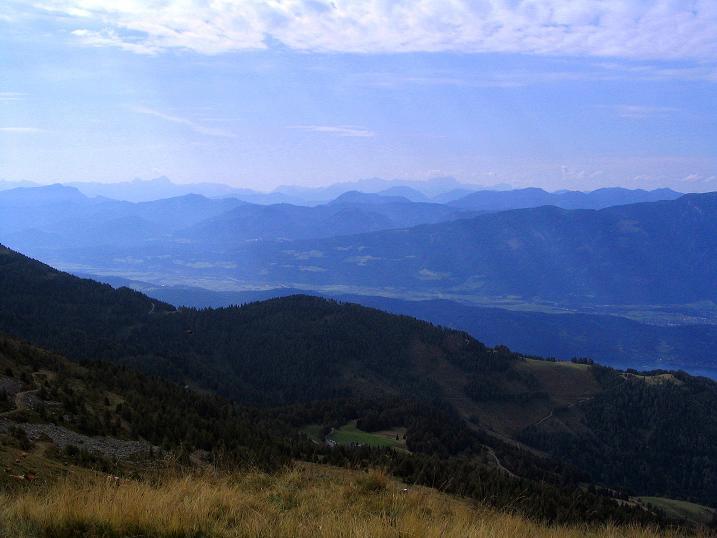 Foto: Andreas Koller / Wander Tour / Gamsbrünndlweg auf das Tschiernock (2088 m) / Weites Kärntner Land / 03.09.2009 22:03:58