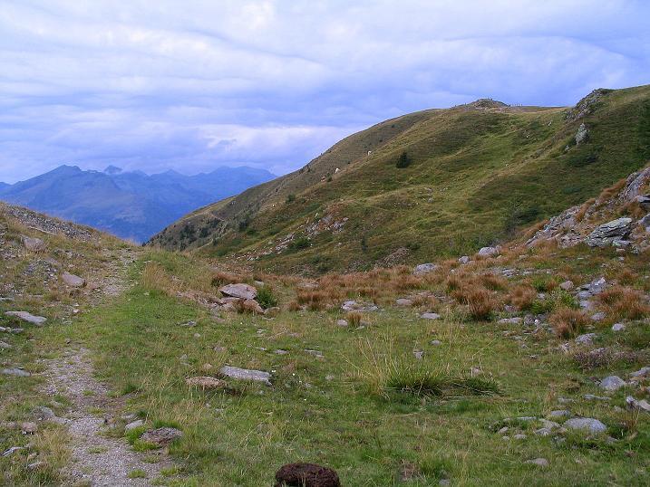 Foto: Andreas Koller / Wander Tour / Gamsbrünndlweg auf das Tschiernock (2088 m) / Tschiernock und Reißeckgruppe / 03.09.2009 22:03:39