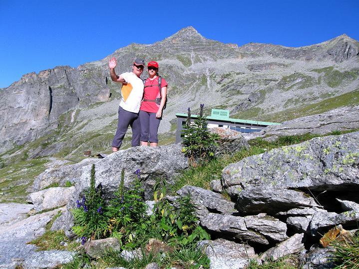 Foto: Andreas Koller / Klettersteig Tour / Bella Vista Klettersteig auf die Hohe Leier (2774 m) / 06.09.2009 23:40:35