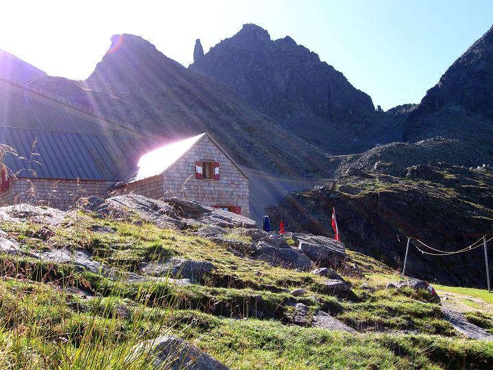 Foto: Andreas Koller / Klettersteig Tour / Bella Vista Klettersteig auf die Hohe Leier (2774 m) / Kurz vor der Reißeckhütte / 06.09.2009 23:40:03