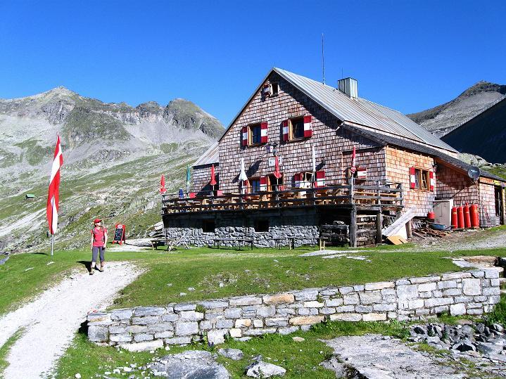 Foto: Andreas Koller / Klettersteig Tour / Bella Vista Klettersteig auf die Hohe Leier (2774 m) / Reißeckhütte / 06.09.2009 23:39:43