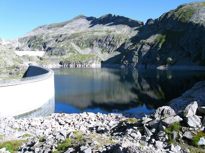 Foto: Andreas Koller / Klettersteig Tour / Bella Vista Klettersteig auf die Hohe Leier (2774 m) / 06.09.2009 23:38:50