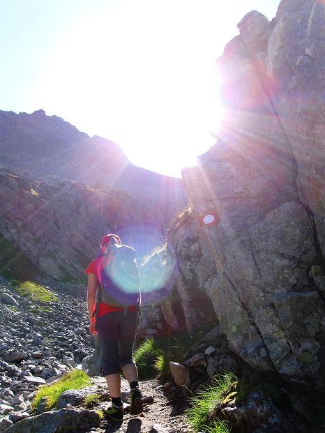 Foto: Andreas Koller / Klettersteig Tour / Bella Vista Klettersteig auf die Hohe Leier (2774 m) / Schöner Zustieg / 06.09.2009 23:37:59