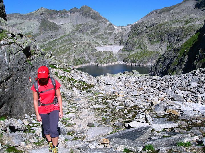 Foto: Andreas Koller / Klettersteig Tour / Bella Vista Klettersteig auf die Hohe Leier (2774 m) / 06.09.2009 23:37:43