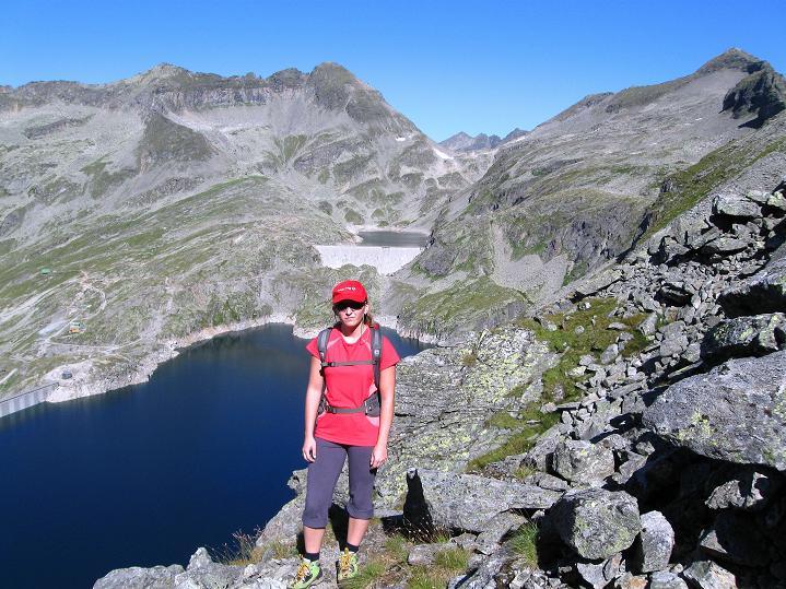 Foto: Andreas Koller / Klettersteig Tour / Bella Vista Klettersteig auf die Hohe Leier (2774 m) / 06.09.2009 23:37:05