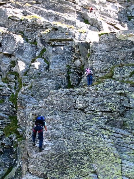 Foto: Andreas Koller / Klettersteig Tour / Bella Vista Klettersteig auf die Hohe Leier (2774 m) / 06.09.2009 23:36:31