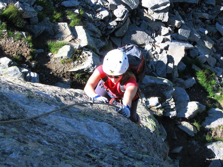 Foto: Andreas Koller / Klettersteig Tour / Bella Vista Klettersteig auf die Hohe Leier (2774 m) / 06.09.2009 23:35:41