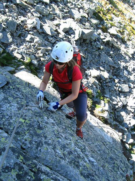 Foto: Andreas Koller / Klettersteig Tour / Bella Vista Klettersteig auf die Hohe Leier (2774 m) / 06.09.2009 23:35:31