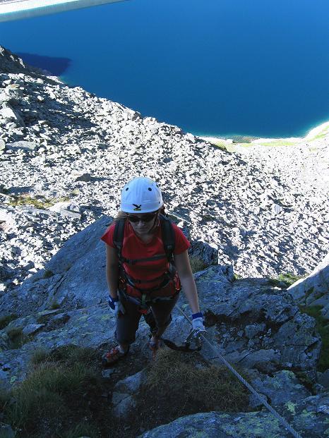 Foto: Andreas Koller / Klettersteig Tour / Bella Vista Klettersteig auf die Hohe Leier (2774 m) / 06.09.2009 23:35:21