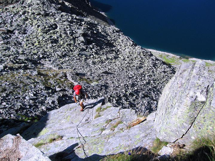 Foto: Andreas Koller / Klettersteig Tour / Bella Vista Klettersteig auf die Hohe Leier (2774 m) / 06.09.2009 23:35:03