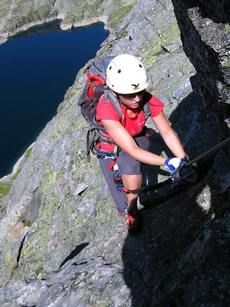 Foto: Andreas Koller / Klettersteig Tour / Bella Vista Klettersteig auf die Hohe Leier (2774 m) / 06.09.2009 23:34:41