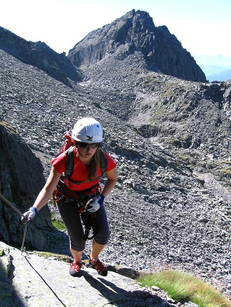 Foto: Andreas Koller / Klettersteig Tour / Bella Vista Klettersteig auf die Hohe Leier (2774 m) / 06.09.2009 23:34:32