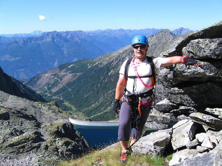 Foto: Andreas Koller / Klettersteig Tour / Bella Vista Klettersteig auf die Hohe Leier (2774 m) / 06.09.2009 23:34:22