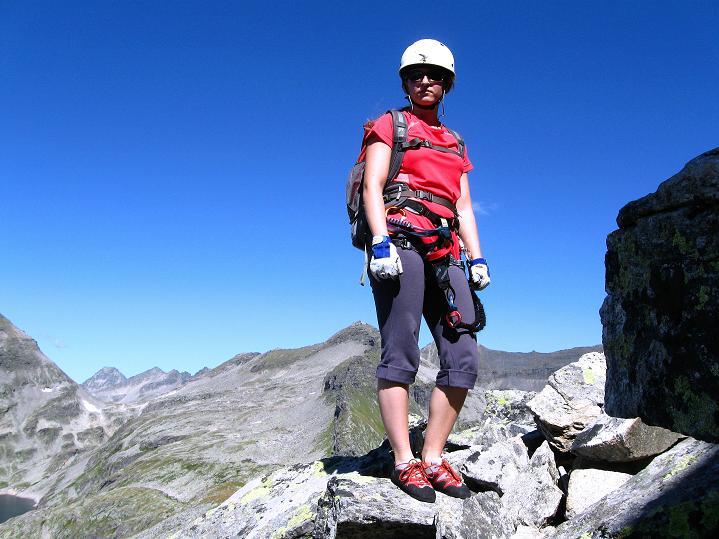 Foto: Andreas Koller / Klettersteig Tour / Bella Vista Klettersteig auf die Hohe Leier (2774 m) / 06.09.2009 23:33:25
