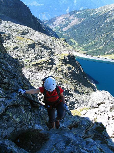 Foto: Andreas Koller / Klettersteig Tour / Bella Vista Klettersteig auf die Hohe Leier (2774 m) / 06.09.2009 23:33:16
