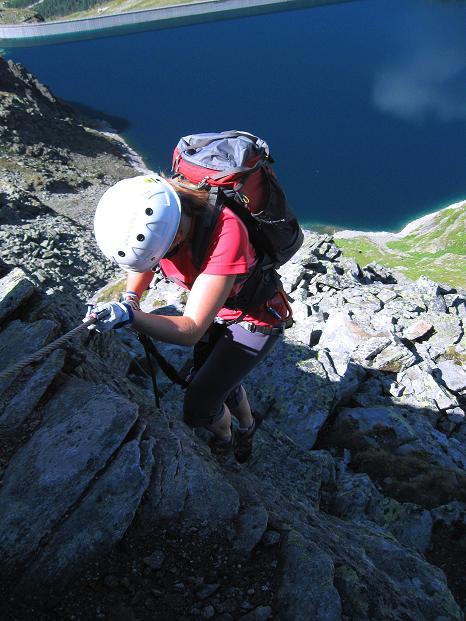 Foto: Andreas Koller / Klettersteig Tour / Bella Vista Klettersteig auf die Hohe Leier (2774 m) / 06.09.2009 23:33:06