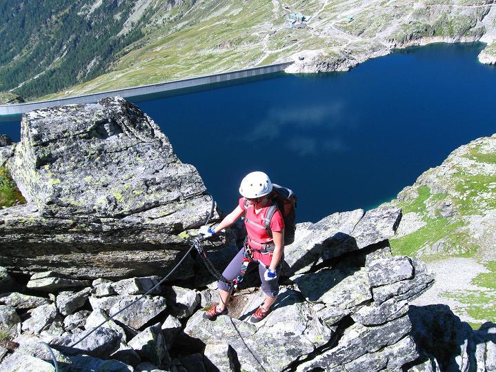 Foto: Andreas Koller / Klettersteig Tour / Bella Vista Klettersteig auf die Hohe Leier (2774 m) / 06.09.2009 23:32:54