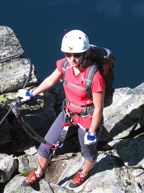 Foto: Andreas Koller / Klettersteig Tour / Bella Vista Klettersteig auf die Hohe Leier (2774 m) / 06.09.2009 23:32:44
