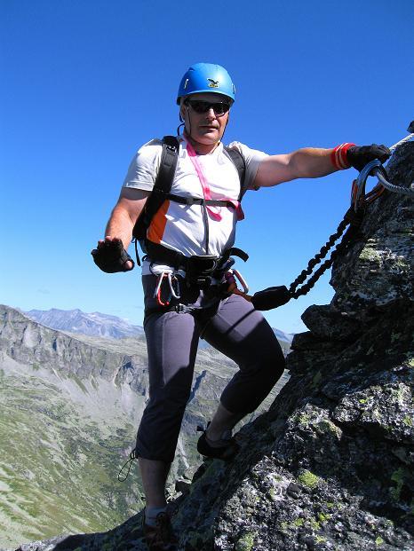 Foto: Andreas Koller / Klettersteig Tour / Bella Vista Klettersteig auf die Hohe Leier (2774 m) / 06.09.2009 23:32:32