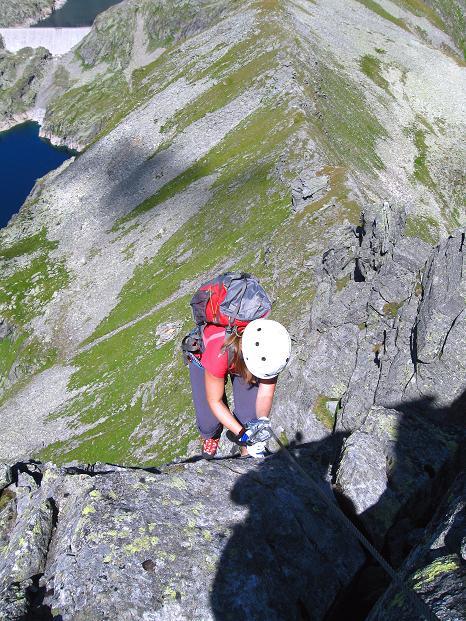 Foto: Andreas Koller / Klettersteig Tour / Bella Vista Klettersteig auf die Hohe Leier (2774 m) / 06.09.2009 23:32:21