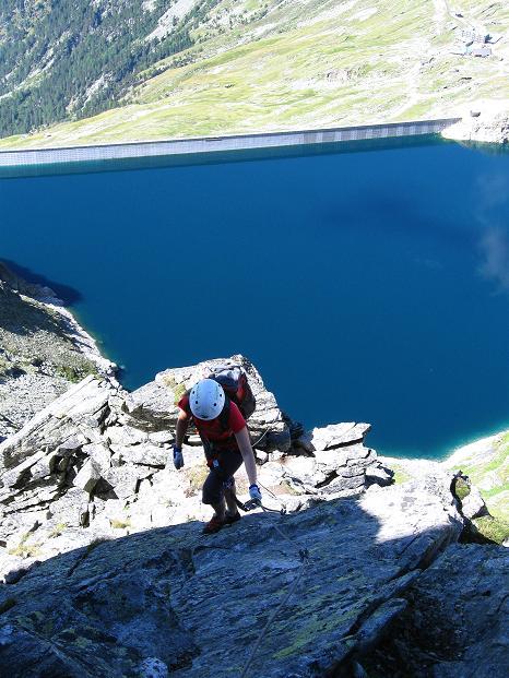 Foto: Andreas Koller / Klettersteig Tour / Bella Vista Klettersteig auf die Hohe Leier (2774 m) / 06.09.2009 23:32:12