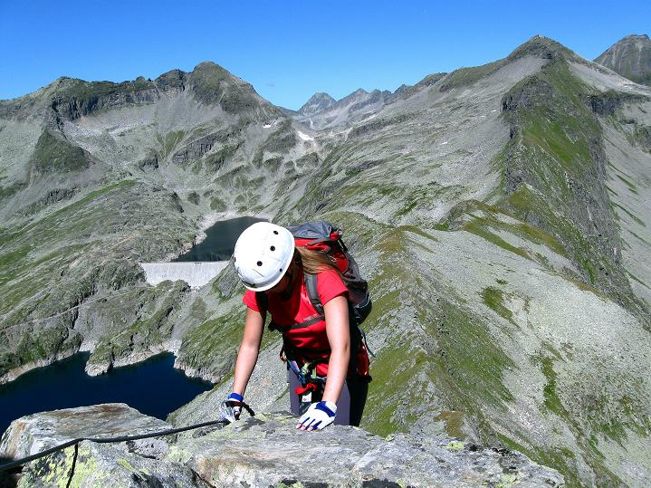 Foto: Andreas Koller / Klettersteig Tour / Bella Vista Klettersteig auf die Hohe Leier (2774 m) / 06.09.2009 23:32:03