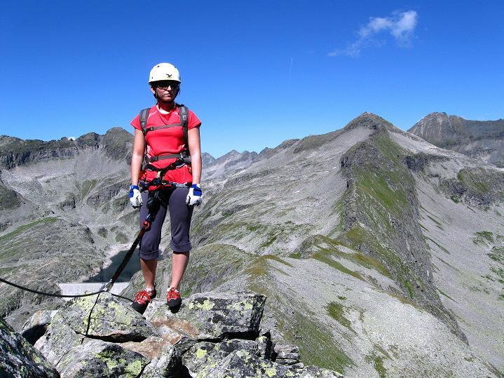 Foto: Andreas Koller / Klettersteig Tour / Bella Vista Klettersteig auf die Hohe Leier (2774 m) / 06.09.2009 23:31:54